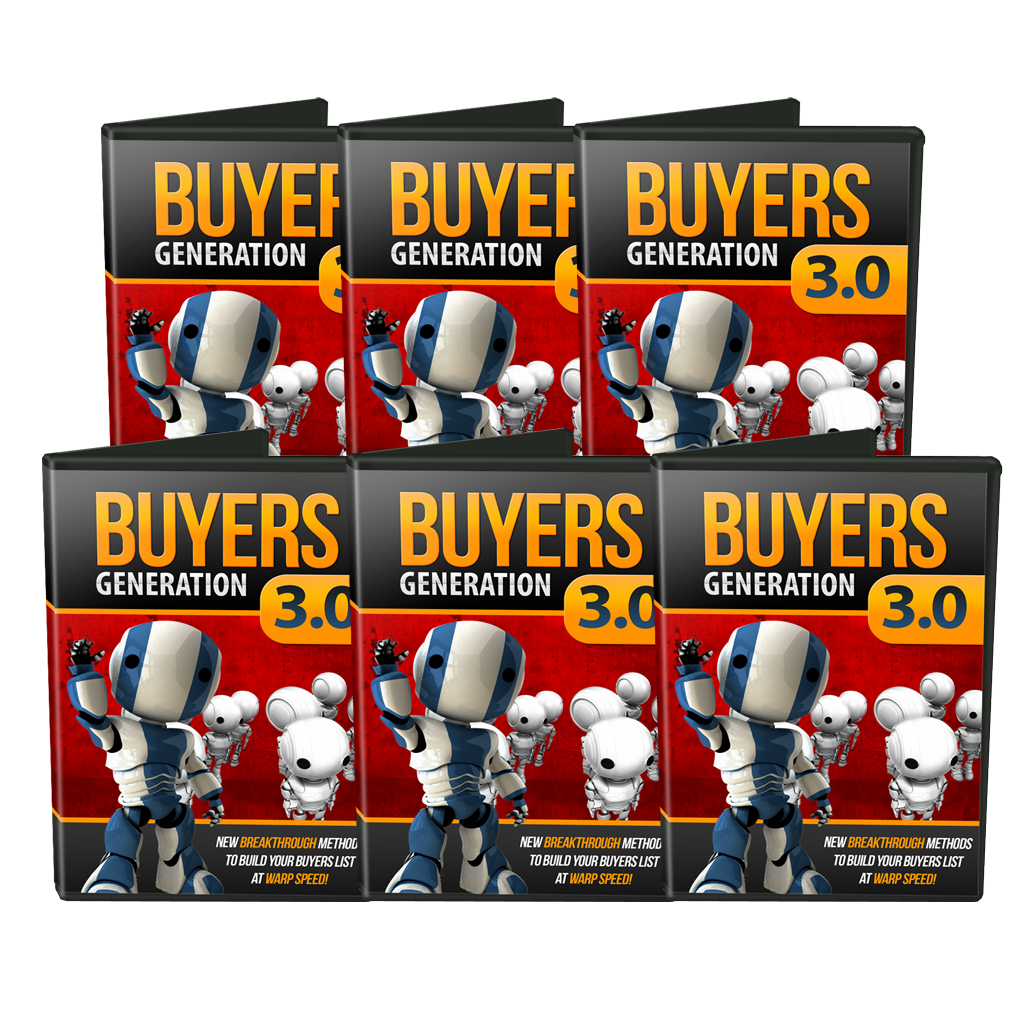 Buyers Generation 3.0